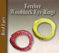 Ferebee Wood Duck Eye Rings
