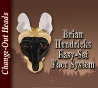 Easy Set Face System Heads