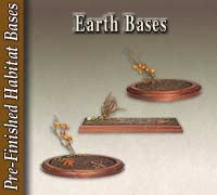 Pre-Finished Earth Bases