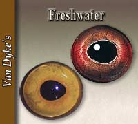 Natural Freshwater Fish Eyes