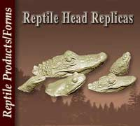 Reptile Head Replicas