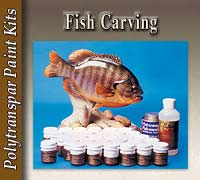 Fish Carving Paint Kits