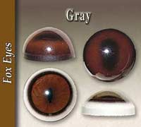 Gray Fox Eyes