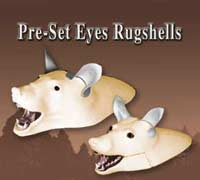 Rugshells with Pre-Set Eyes