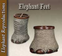 Reproduction Elephant Feet
