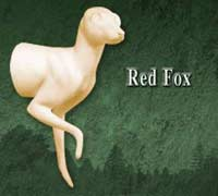 Red Fox Half Life Size
