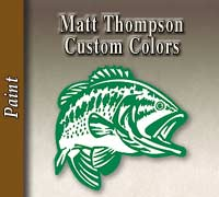 Matt Thompson Custom Colors
