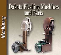 Fleshing Machines and Parts