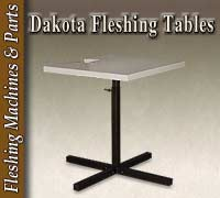 Dakota Fleshing Tables