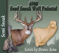 6900 Series Semi-Sneak Wall Pedestal