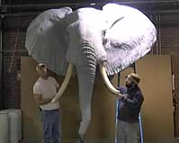 Reproduction Elephant Assembly